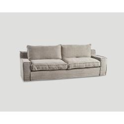 Sofa trzyosobowa - ostrygowa DB004539