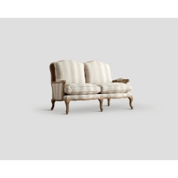 Sofa dwuosobowa - dębowa ramaDB002257