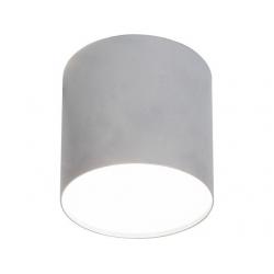 Lampa stropowa POINT PLEXI SILVER M