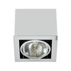 Lampa stropowa BOX gray I