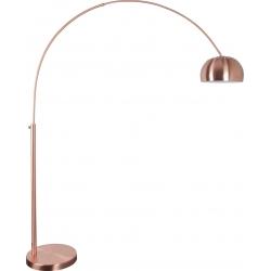 Lampa podłogowa METAL BOW - miedziana