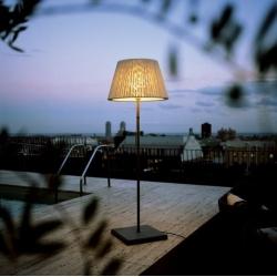 Lampa stojąca TXL 205 White textilene