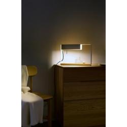 Lampka nocna La Discrète szara