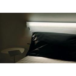 Lampa LED dla systemu Continua- biała(lewa)