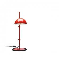 Lampa biurkowa Funiculí S czerwona
