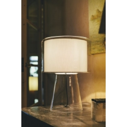 Lampa stołowa Mercer  biała