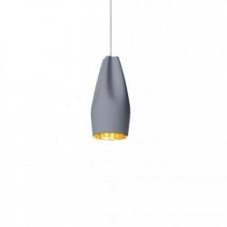 Lampa wisząca Pleat Box 13 szaro-złota