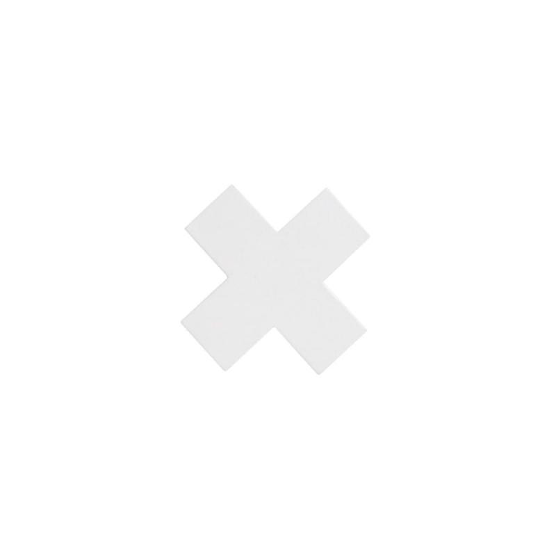 Wieszak krzyżyk biały s