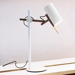 Lampa stołowa Scantling S biała