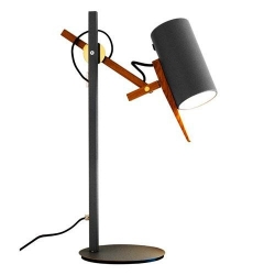 Lampa stołowa Scantling S czarna