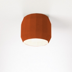 Lampa sufitowa Scotch Club C Terracotta-White