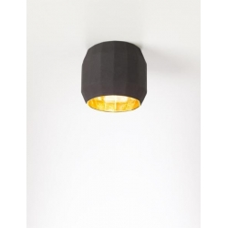 Lampa sufitowa Scotch Club C Black-Gold