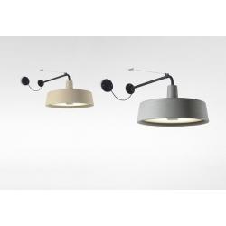 Lampa ścienna  Soho 38 A LED Stone Grey