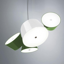 Abażur  boczny do lamp Tam Tam 3, 5 Green
