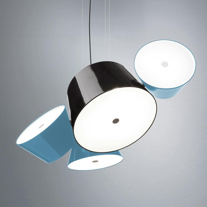 Abażur  boczny do lamp Tam Tam 3, 5 Blue