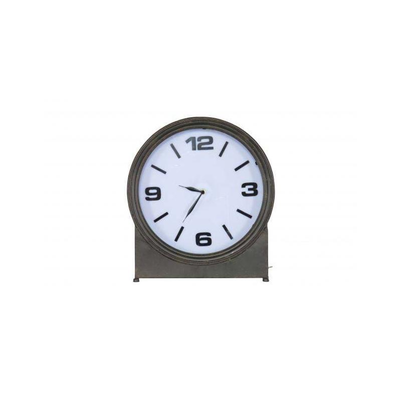 Metalowy zegar AGELESS czarny