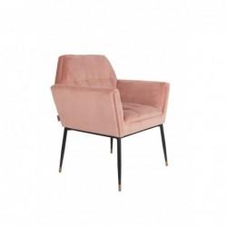 Fotel KATE różowy