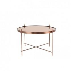 stolik CUPID miedziany duży