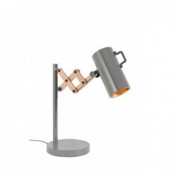 Lampa stołowa FLEX szara -...