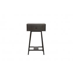 Stolik z szufladą SKYBOX czarny