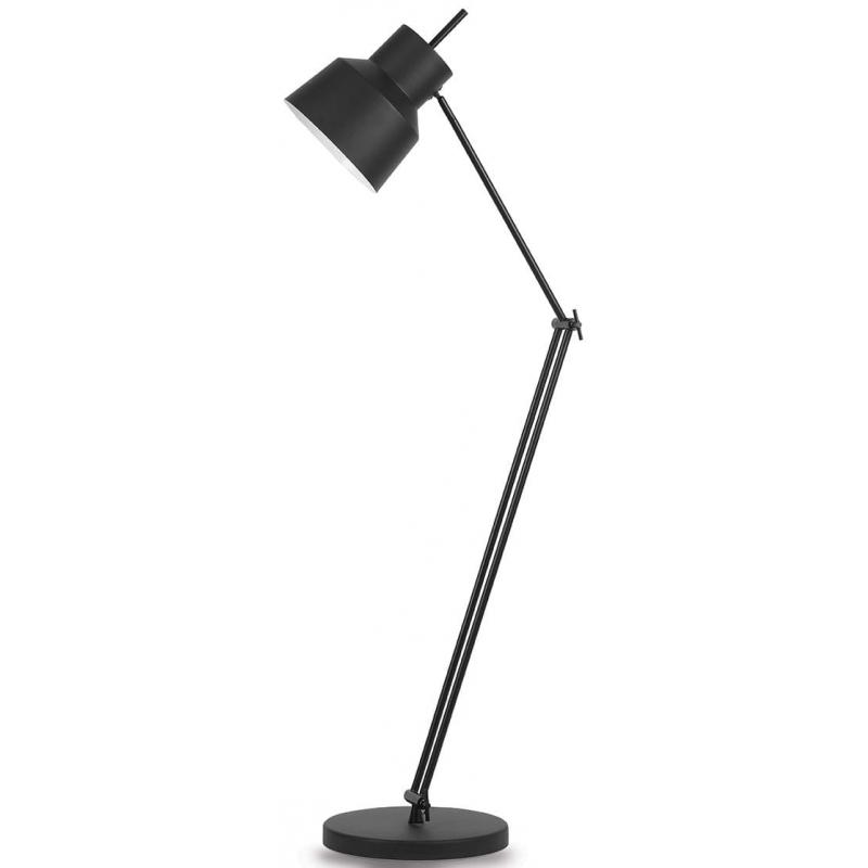 Lampa podłogowa BELFAST czarna
