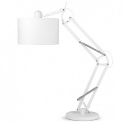 Lampa stołowa MILANO biała