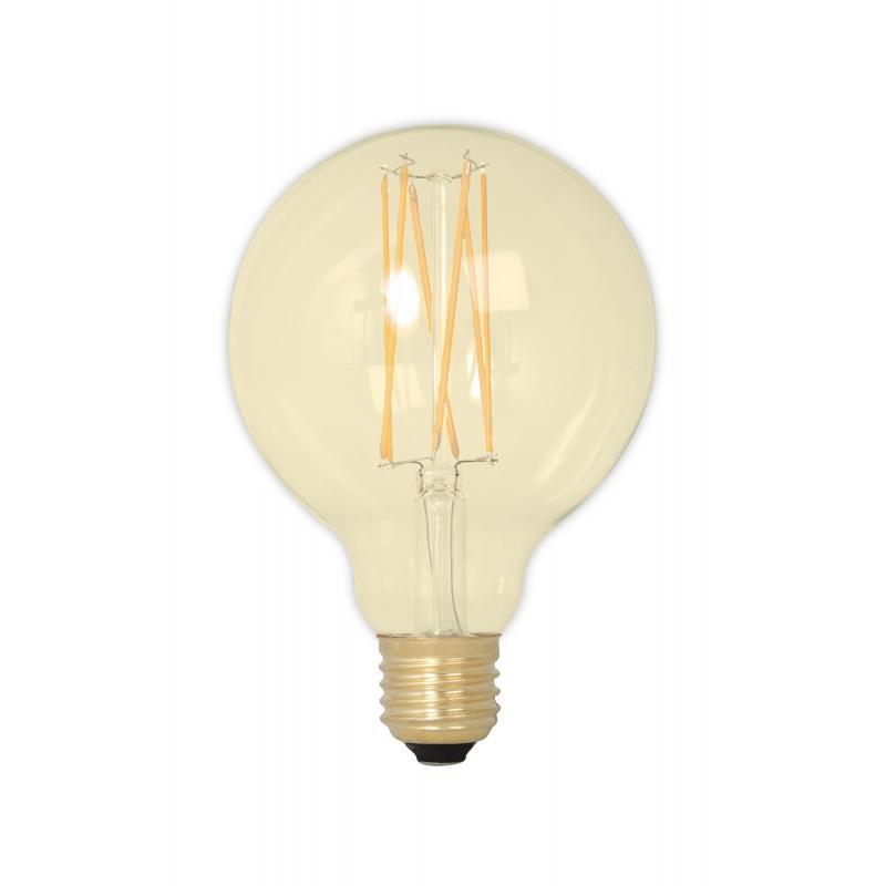 Żarówka Calex LED G95 - złota, 4W E27