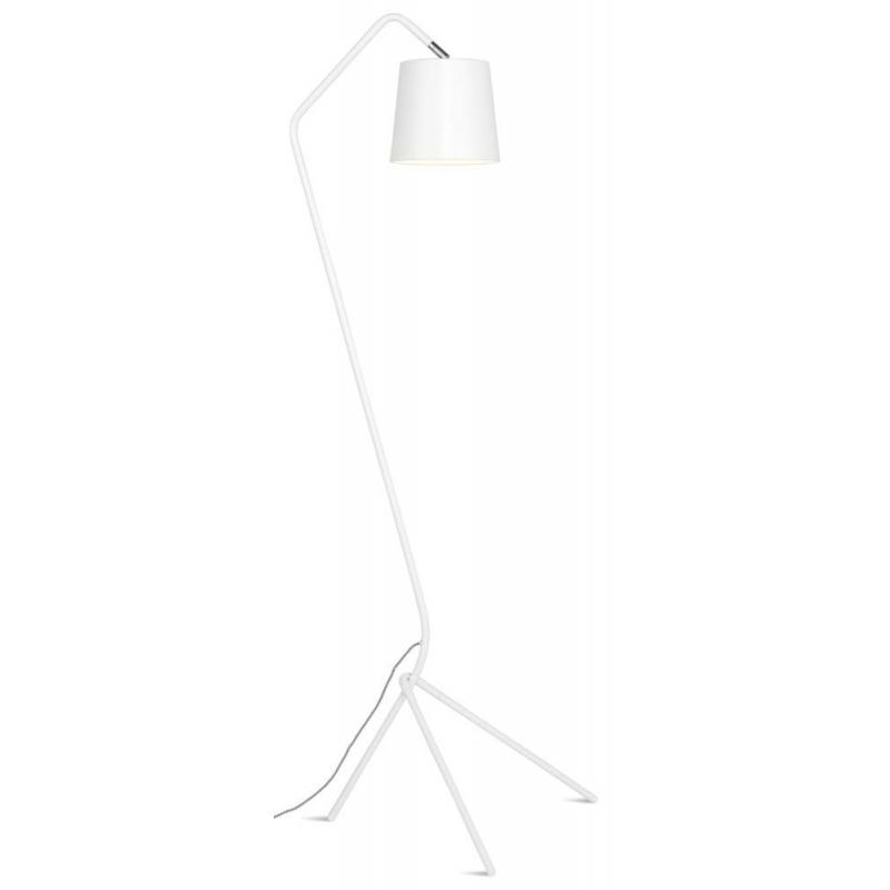Lampa podłogowa BARCELONA, 3-nożny żelazny stelaż/53x57xh152cm, biały