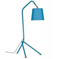 Lampa stołowa BARCELONA, 3-nożny żelazny stelaż/53x57xh152cm, teal blue