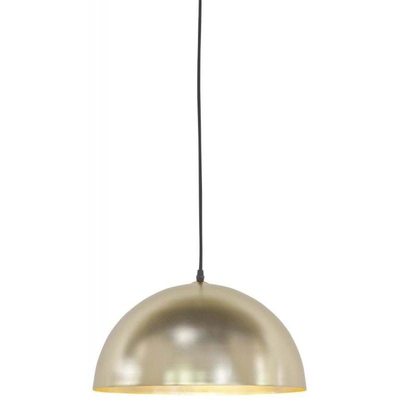 Lampa wisząca CANNES żelazna/ 40x24cm złoty, s