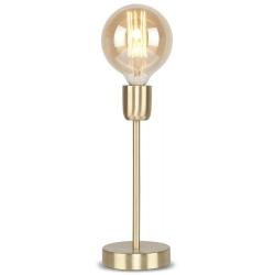 Lampa stołowa CANNES żelazna/ 12x30cm złoty, s