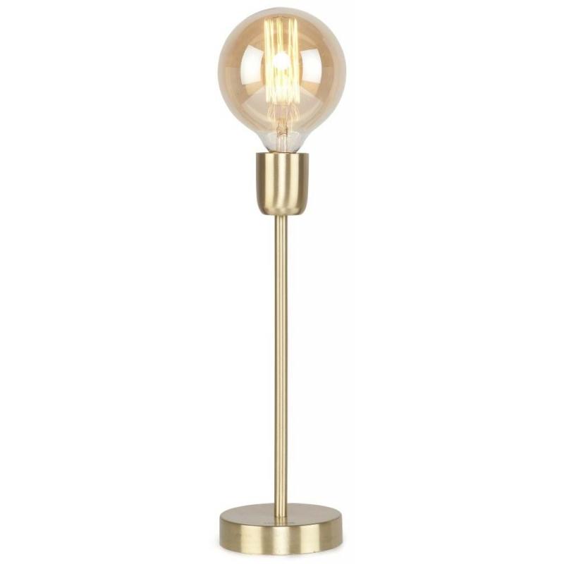 Lampa stołowa CANNES żelazna/ 12x37cm złoty, l