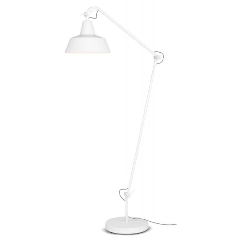Lampa podłogowa CHICAGO, biała