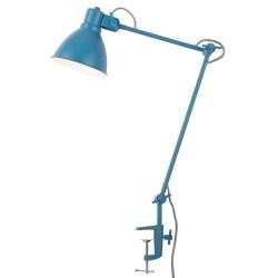 Lampa stołowa DERBY żelazna/ 20x37cm, teal blue