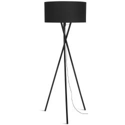 Lampa podłogowa HAMPTON czarna