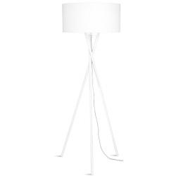 Lampa podłogowa HAMPTON biała