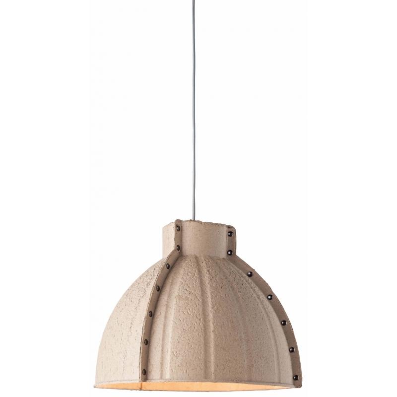 Lampa wisząca YELLOWSTONE masa papierowa 40x37cm okrągły, naturalny