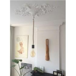 Lampa Gym XXL - 80cm / czarna