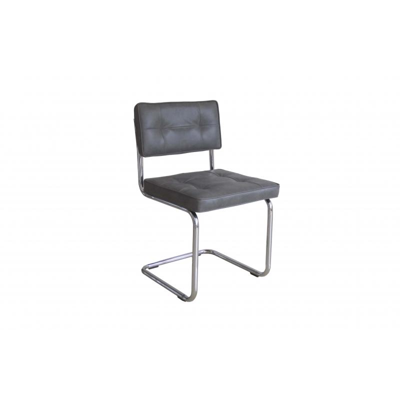 Krzesło Ruby szare (zestaw 2szt)