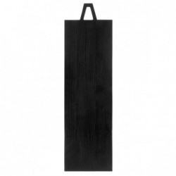Deska drewniana czarna...