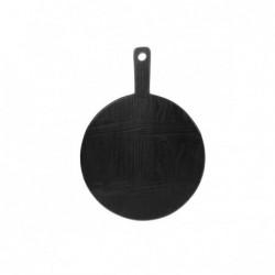 Okrągła deska czarna rozmiar S