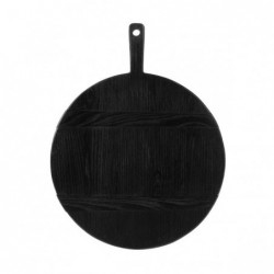 Okrągła deska czarna rozmiar M