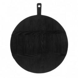 Okrągła deska czarna rozmiar L