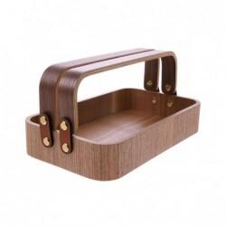 Drewniane pudełko z 2...