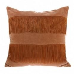 Poduszka velvet z frędzlami...