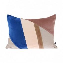 Poduszka velvet łaty(35x50)