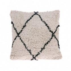 Bawełniana poduszka w romby...
