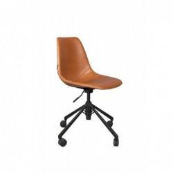 Krzesło biurowe Franky brązowe