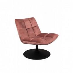 Fotel Bar różowy