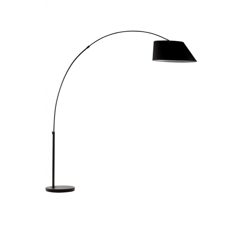 FLOOR LAMP ARC czarna